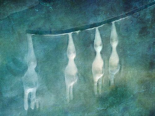 Eis-abstrakt