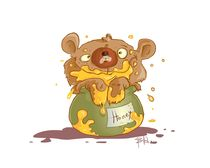 Honey bear  von pzla