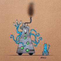 Bizarre machine by Olivier Roberjot