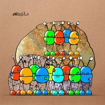 La foule de trucs by Olivier Roberjot