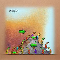 Escalator by Olivier Roberjot
