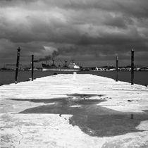 Merchant Ship, Havana Harbour, Havana, Cuba, 2010 by Paul Cooklin