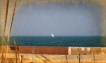 Boat on the Horizon by Milena Ilieva