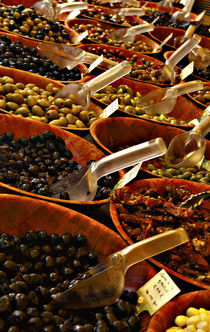 Market Fresh Olives by Casey Marvins