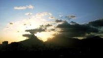 Dois Irmãos Rock Sunset von Carlos Reisig