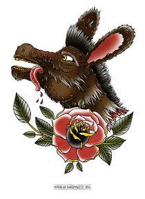 The Donkey von nicholas  christowitz