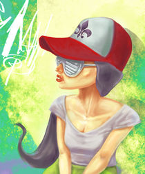 girl_cap_glasses by Filipe Altino