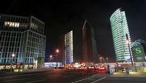 Potsdamer Platz by night by Peggy Graßler