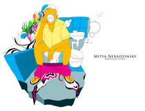 sitting_color by mitya neradzinsky