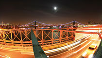 New York - Manhattan and Brooklyn Bridge - NYC - landscape format by temponaut