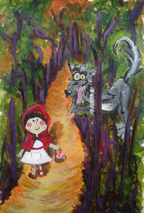Little Red Riding Hood von Chia Rubio