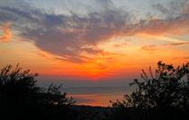 Sunset in Cefalù von Caterina Brigandì