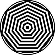 zebra heptagon by Chandler Klebs