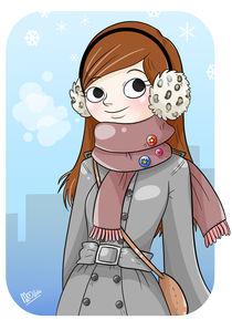 Winter Girl by Marta Anna Jollant