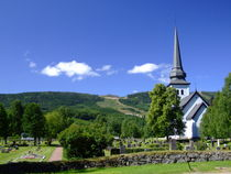 Norway church von Peter Hoetmer