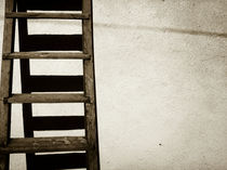 Old ladder by Eszter Ary