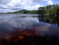 Swedish lake by Peter Hoetmer