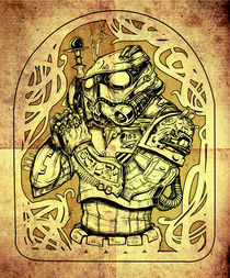 Steampunk Stormtrooper by nico lisa