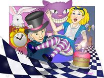 Alice Goes down the Rabbit Hole