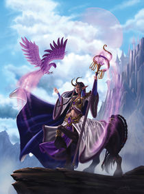 The Sorceress Centaur by carolina-mylius