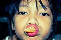 Yummy Orange von Randolf Mojica