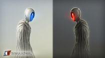 Nihroh e Ordhos - Light and Darkness by Fernando Rabello