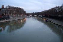 Brücke in Rom by Miloslava Habermehl