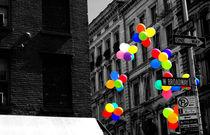 NYC Balloons by Meghan Salmeri