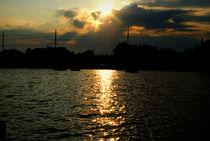 Sunrise at Seaside Bay by Meghan Salmeri