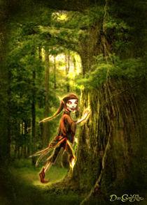 '..for Faery folks live in old oaks..' von Dan Goodfellow