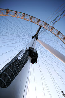 London Eye Rear by Daniel Lima
