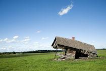 Fallen Farm House by Leslie Philipp