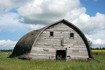 Old Grey Barn by Leslie Philipp