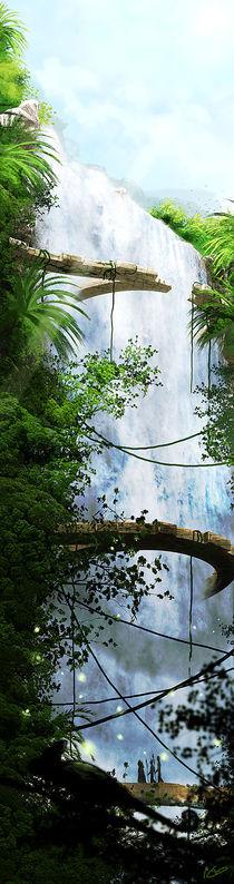 Waterfall by Nicolas Vallee