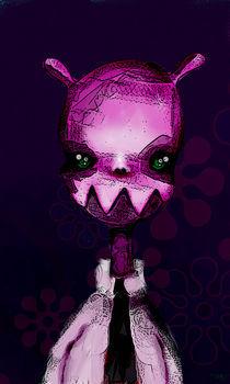 Pink Alien von munkki