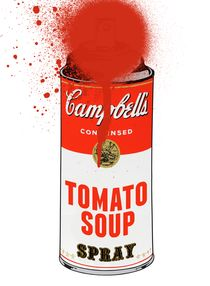 Campbell ́s Tomato Soup Spray by Lasse Örling