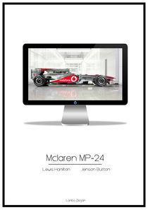 Mclaren MP-24 TV von Matthew  Wildbore