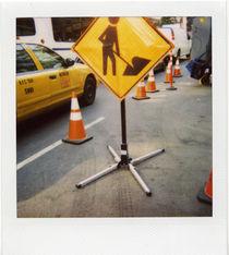 Road sign NY by blackscreen