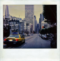 San Francisco street & Taxi by blackscreen