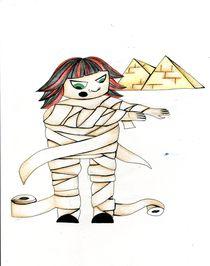 Egyptian Angela by Nadja Asghar