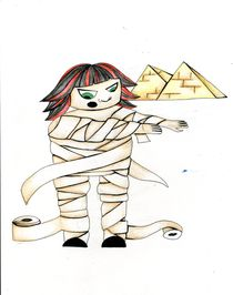 Egyptian Angela von Nadja Asghar