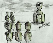 Alien Robots by Nadja Asghar