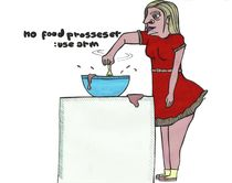 No food processer von Nadja Asghar