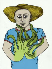 Tentacle Hands  by Nadja Asghar