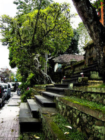 Temple stairs by sahala alberto