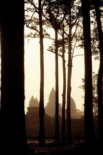 After Sunrise in Angkor by David Pinzer