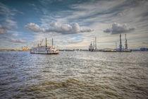 Hamburger Hafen von Manfred Hartmann
