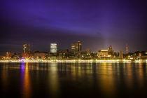 Hamburg bei Nacht von Manfred Hartmann