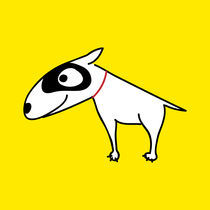 Bull Terrier von Monika Beitlova