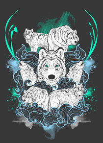 Wolf Pack by Geo Law